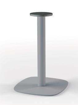LUISINA - Geny - Pied central Geny en acier alu H 725 mm et embase arrondie